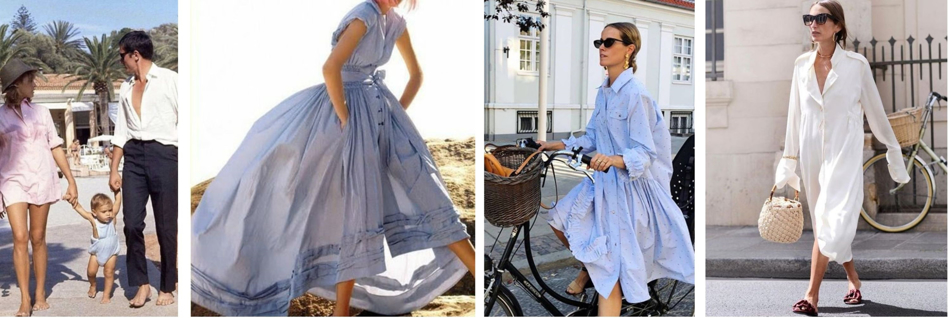 The Journey of the Shirt Dress..